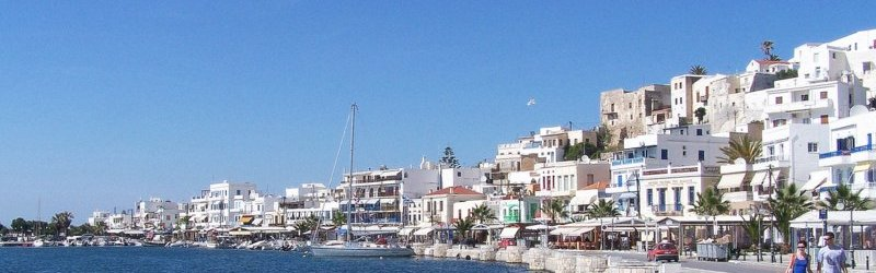 Naxos town