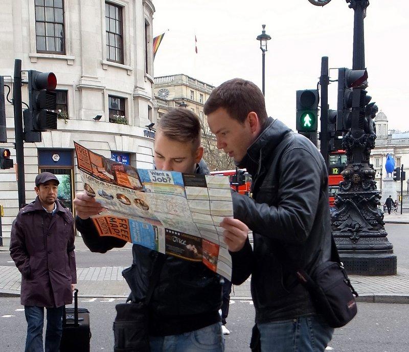 reading map - travel planning